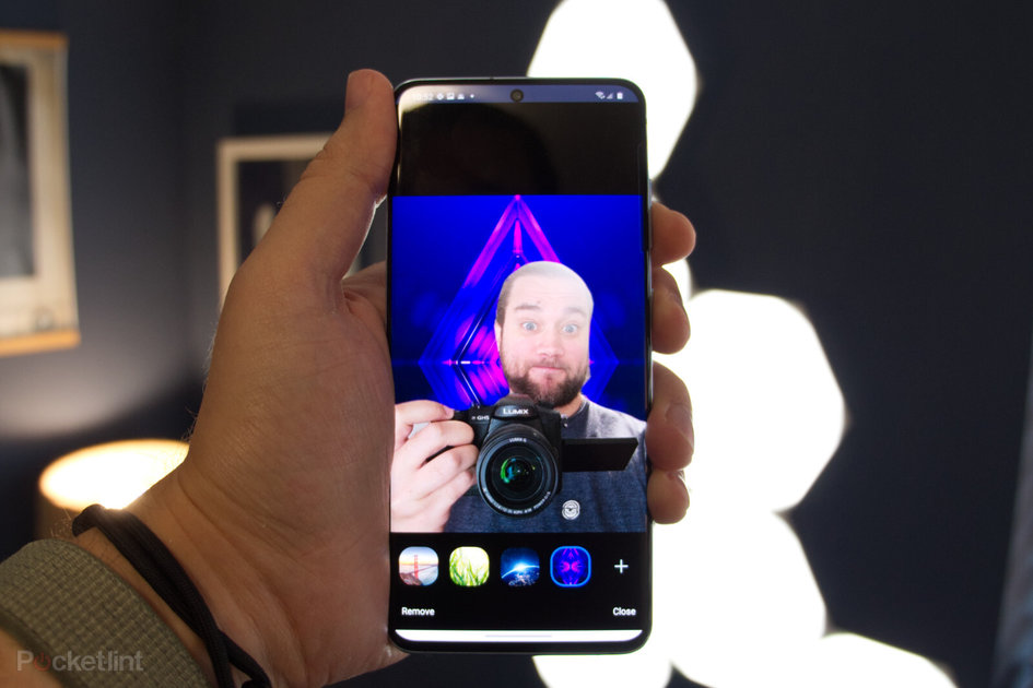 How to get Zoom virtual backgrounds working on Android