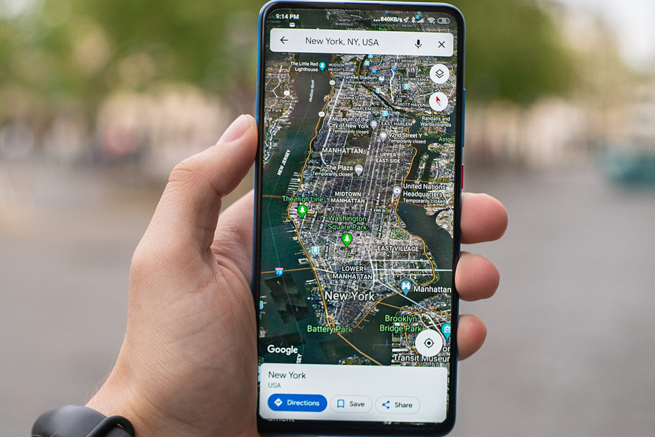 Google Maps' new car mode experience for Android users leaks