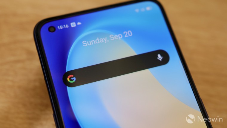 How to customize the Google Search widget on your Android home screen