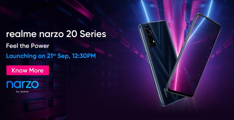 Android 11-based Realme UI 2.0 coming with Narzo 20 Series on Sept 21