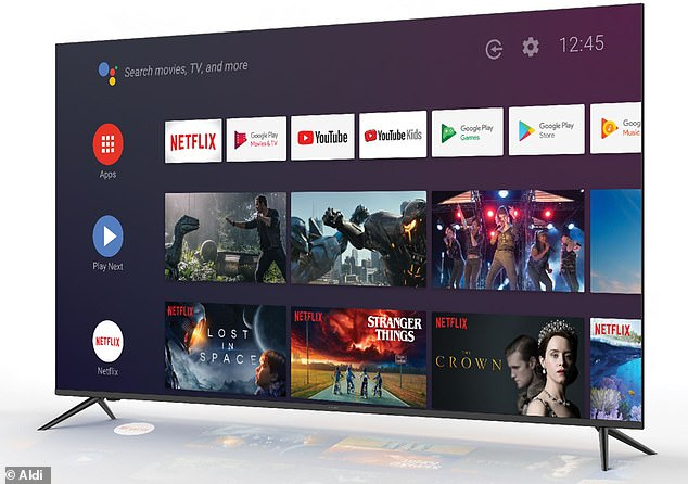 Aldi Australia is releasing a limited number of 58-inch 4K Ultra HD Android televisions