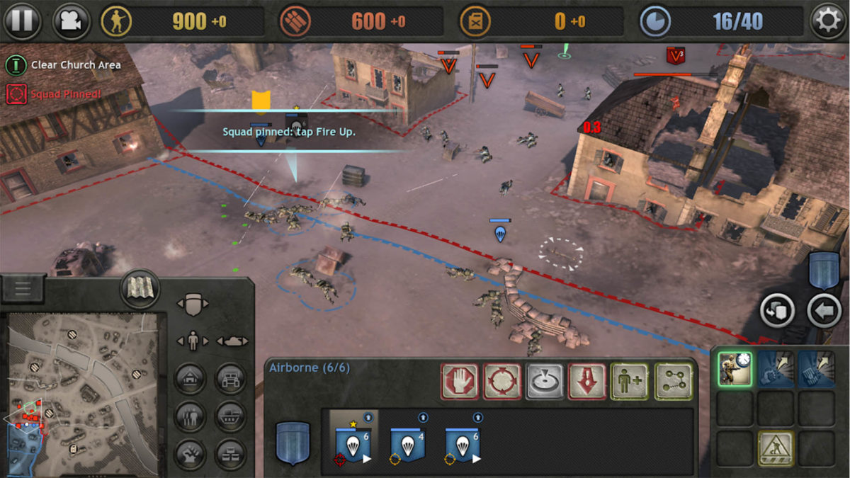 Android Apps Weekly Company of Heroes screenshot