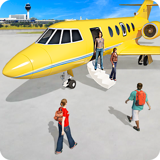 Aeroplane Games City Pilot Flight 1.0.4 APK MODs Unlimited money free Download on Android