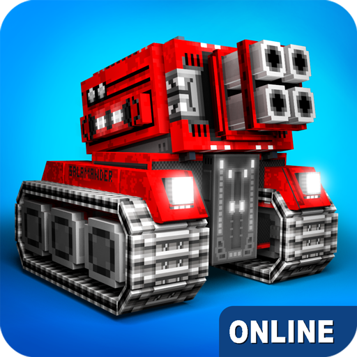 Blocky Cars – online games tank wars 7.5.3 APK MODs Unlimited money free Download on Android