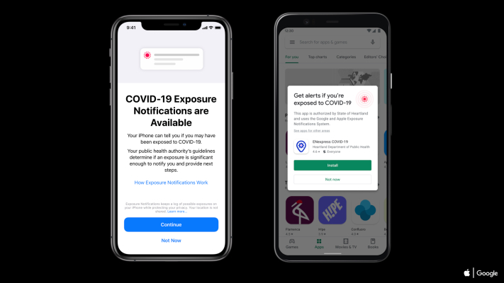 Apple launches COVID-19 'Exposure Notification Express' with iOS 13.7 — Android to follow later this month – TechCrunch