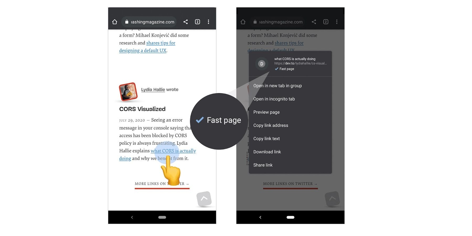 Chrome Now Shows A 'Fast Page' Label On Android: What You Need To Know - Screen Rant