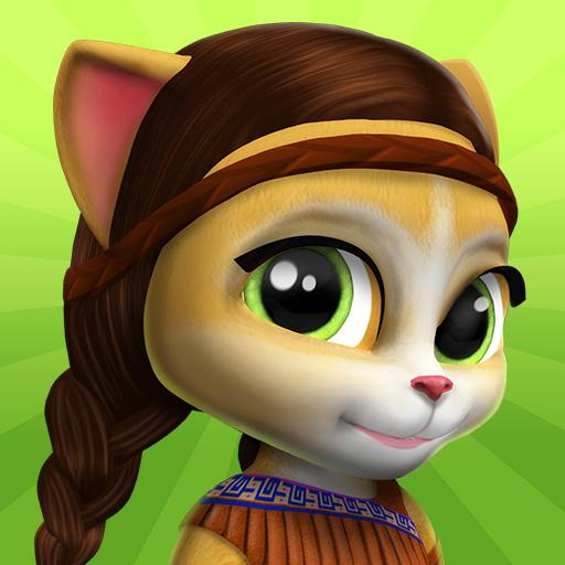 Emma the Cat – My Talking Virtual Pet 2.7 APK MODs Unlimited money free Download on Android