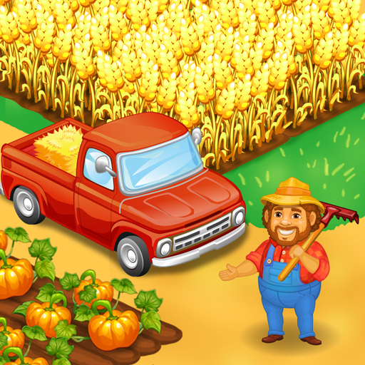 Farm Town Happy farming Day food farm game City 3.41 APK MODs Unlimited money free Download on Android