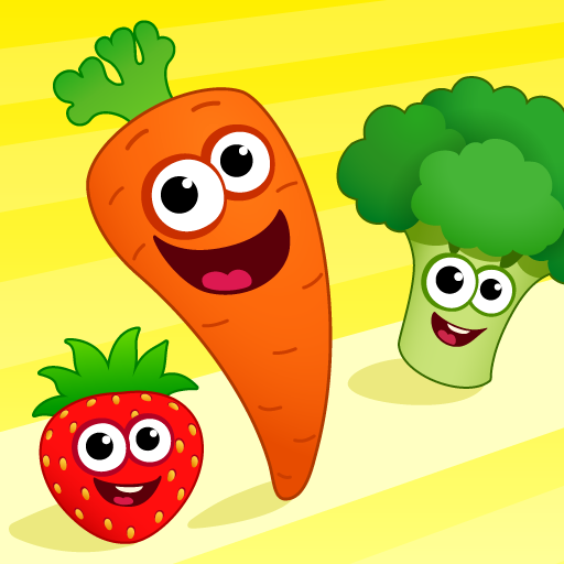 FunnyFood Kindergarten learning games for toddlers 2.4.1.19 APK MODs Unlimited money free Download on Android