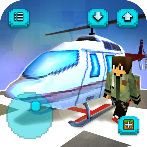 Helicopter Craft Flying Crafting Game 2020 1.26-minApi19 APK MODs Unlimited money free Download on Android