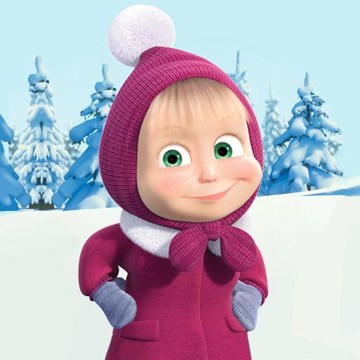 Masha and The Bear Xmas shopping 1.1.2 APK MODs Unlimited money free Download on Android