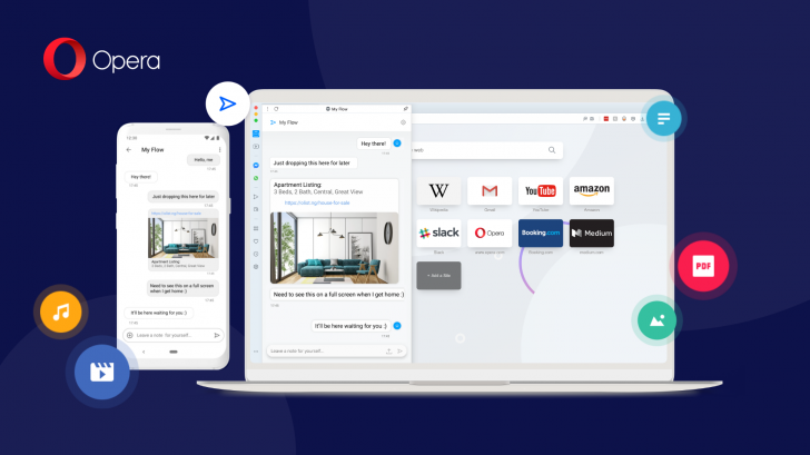 Opera updates its Android app with secure note-taking and an improved cross-device experience