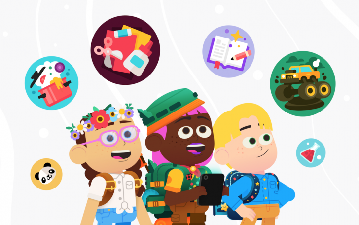 Google Kids Space aggregates children-friendly content on Android tablets