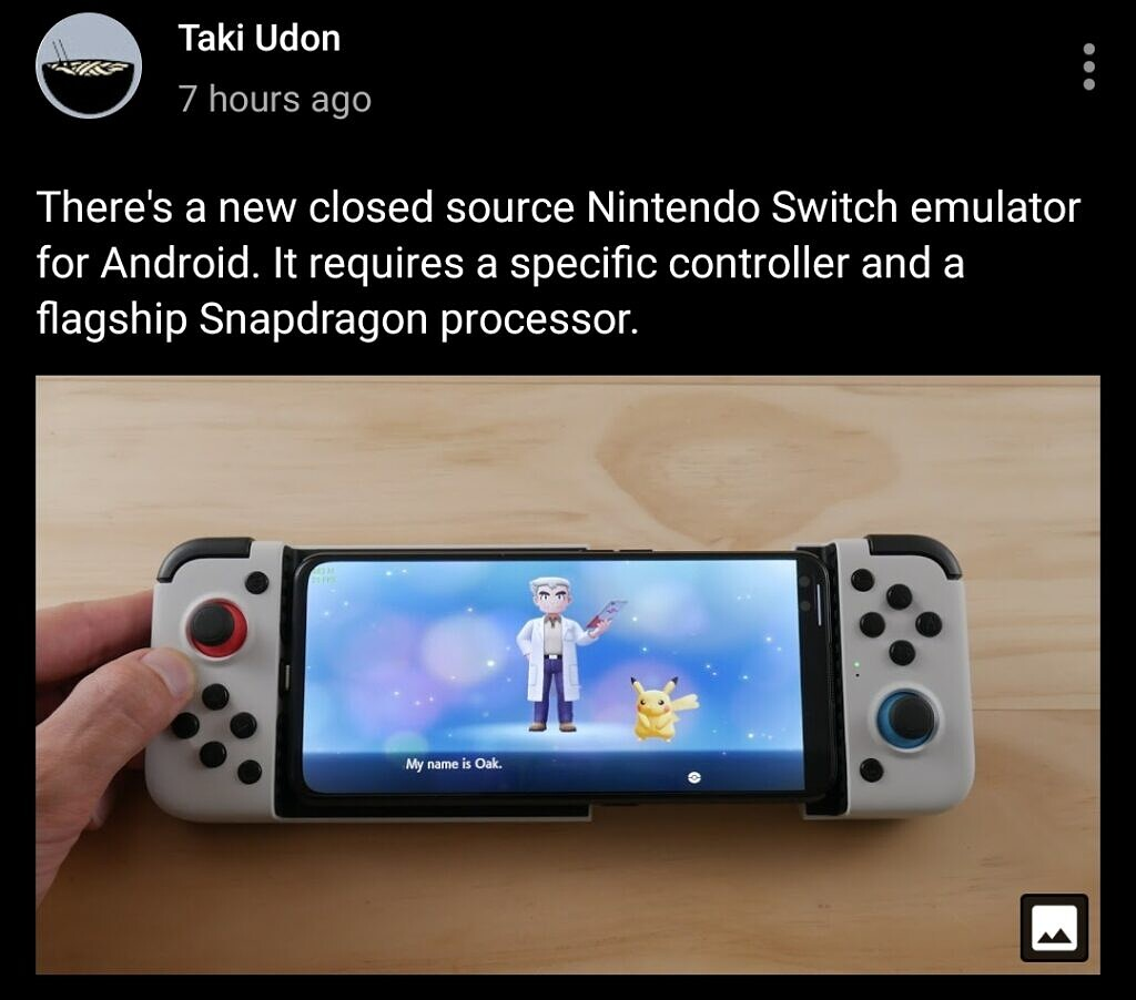 A shady Nintendo Switch emulator for Android has popped up online, and it surprisingly works