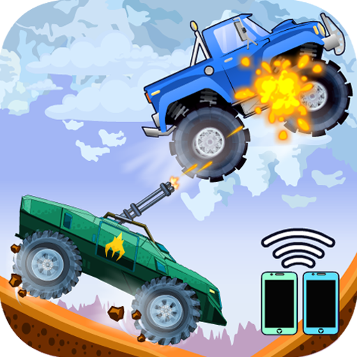 Two players game – Crazy racing via wifi free 1.2.8 APK MODs Unlimited money free Download on Android