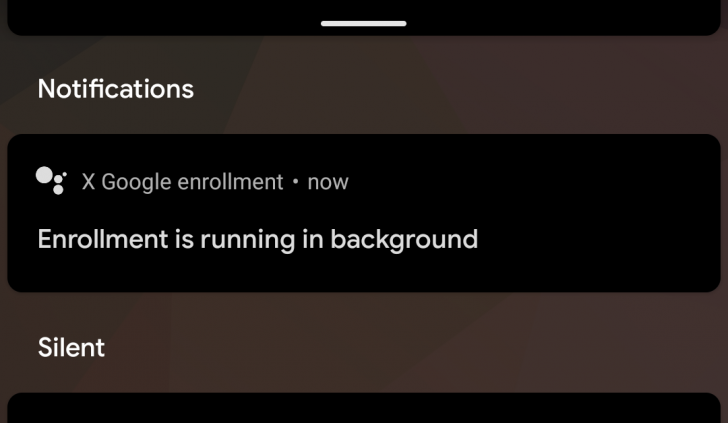 This is what that 'Google X enrollment' notification on your phone means