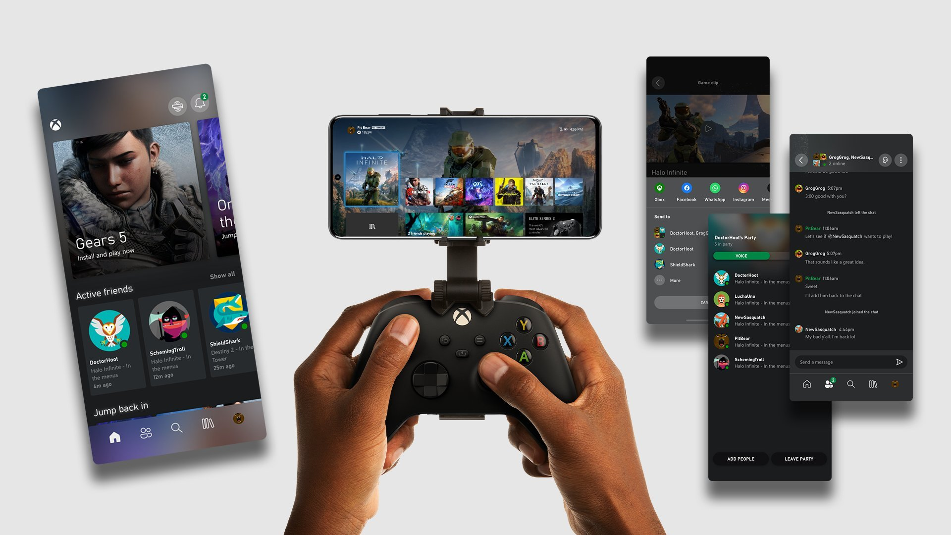 New Xbox App on Android allows for remote play