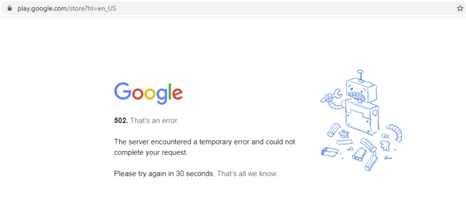 It's not just you, a bunch of Google services were having issues