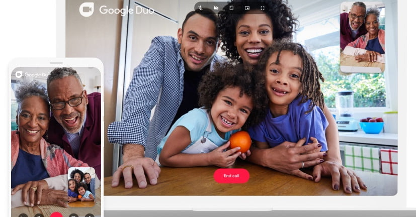You Can Now Share Your Android Screen on Google Duo