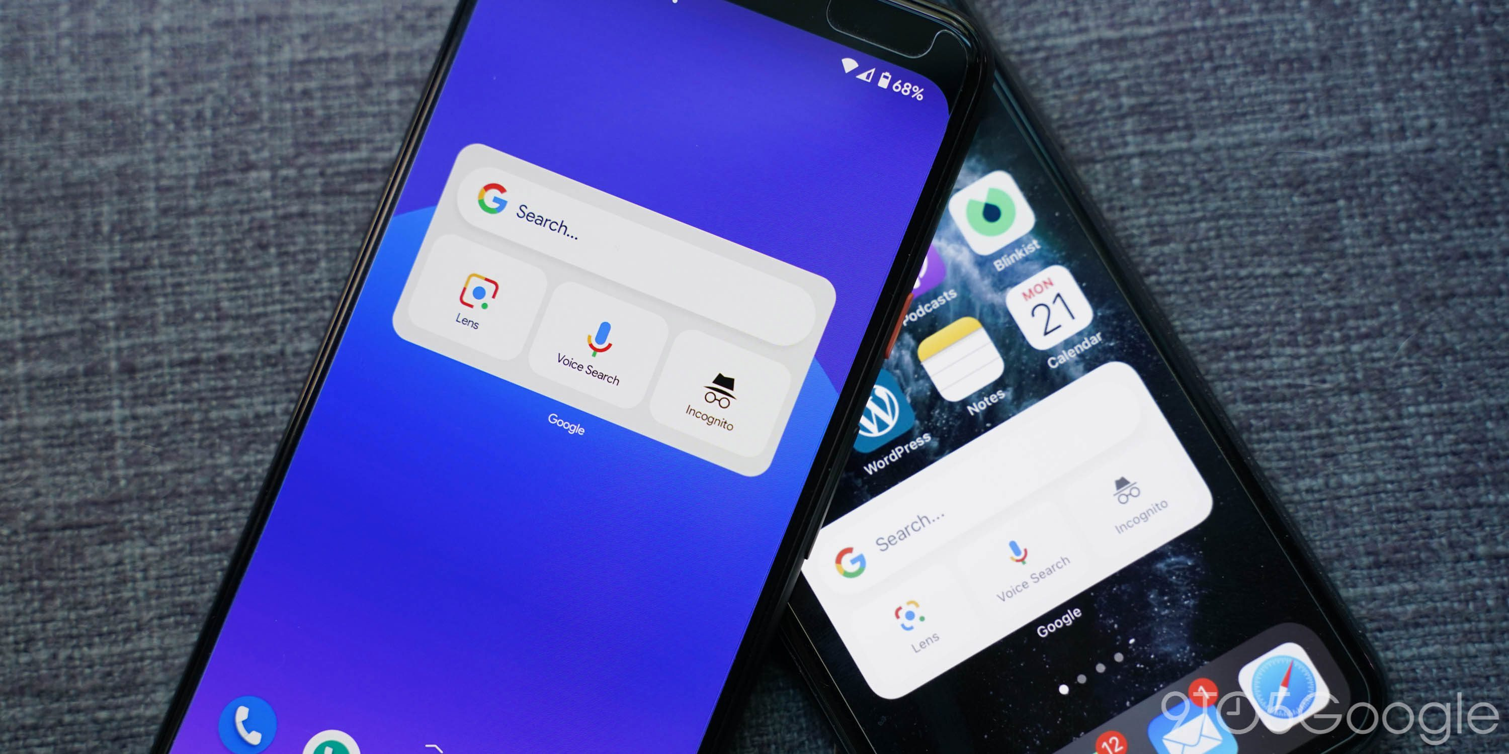 Here's how to add Google's iOS 14 widgets to Android