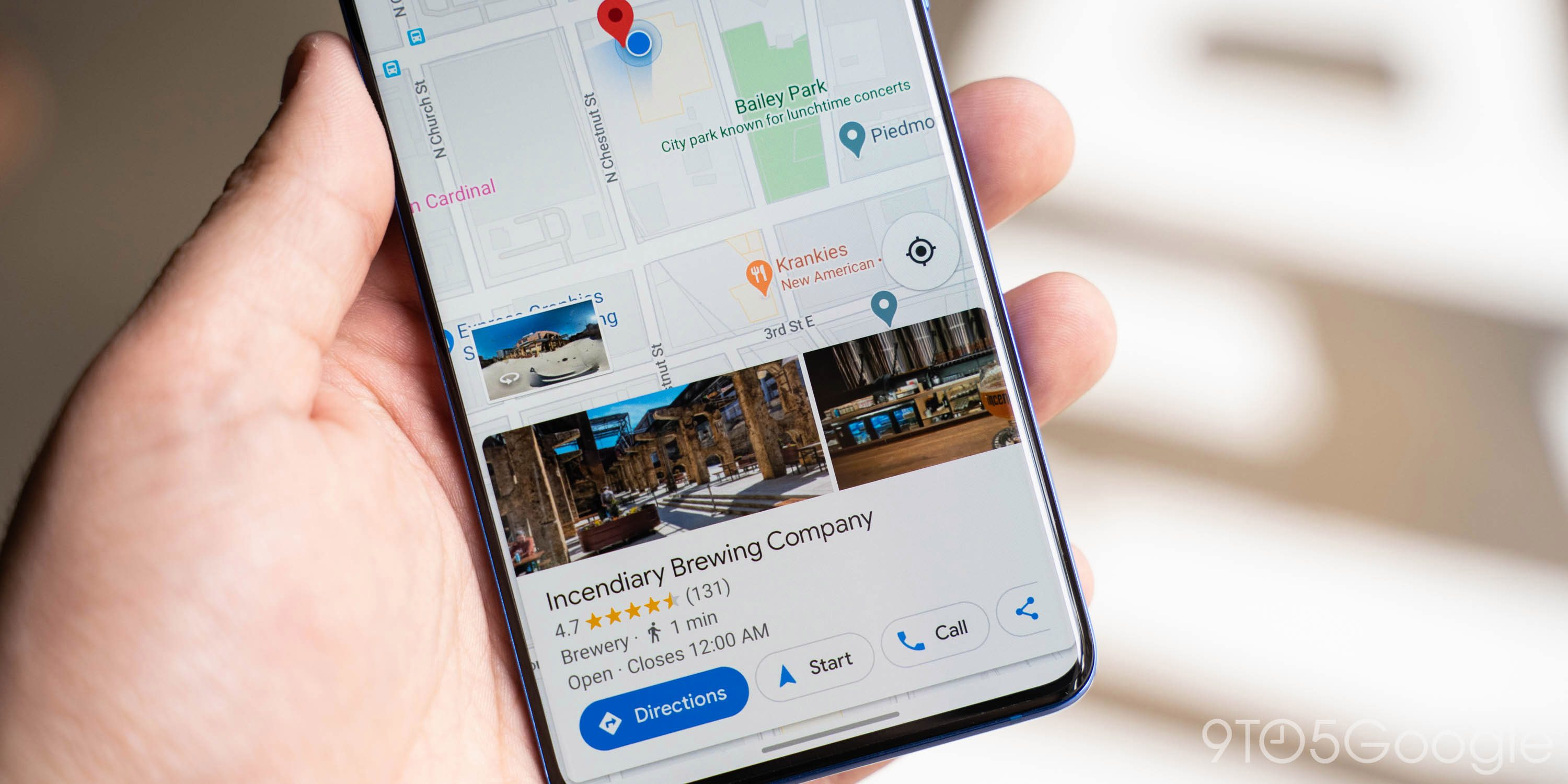 Google Maps for Android rolling out pill-shaped search field