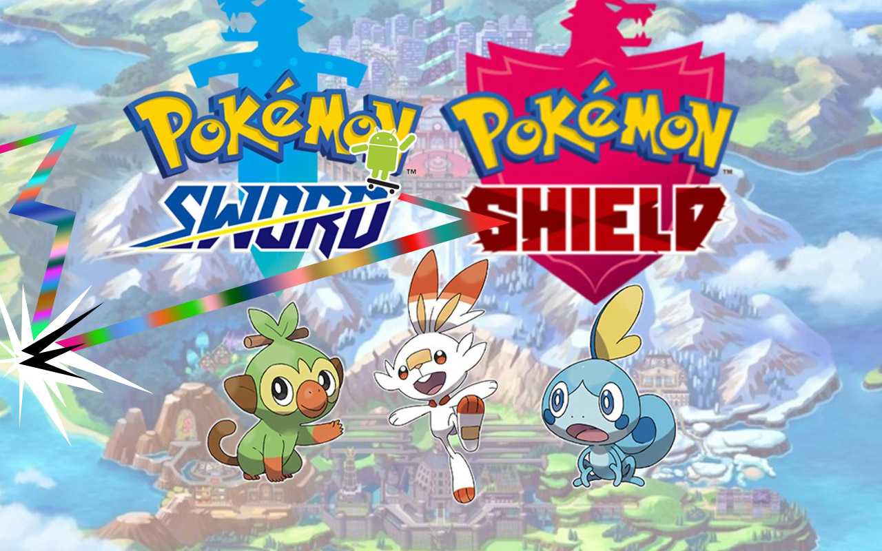 Pokemon Sword & Shield on Android shown in curious emulator demo