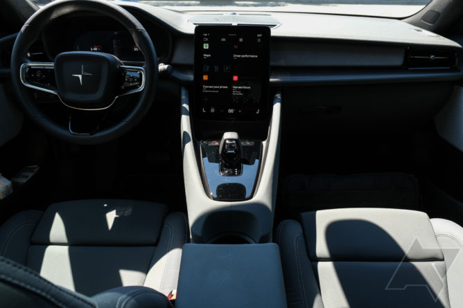 I drove the world's first car with Android Automotive for a day — here's what it's like