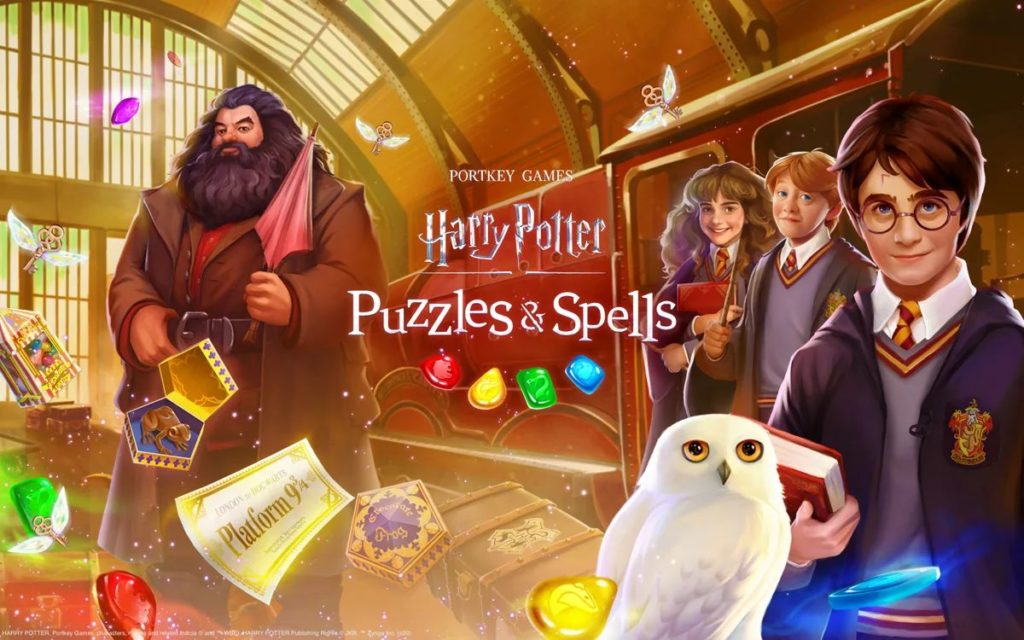 Zynga's Harry Potter: Puzzles & Spells is Out Now on Android