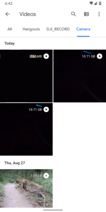 Android 11 got rid of the 4GB limit on videos, but the Google Camera app is still capped