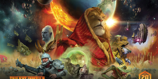 Asmodee brings iconic board games Android and Twilight Imperium to comic book space with CMON – ToyNews