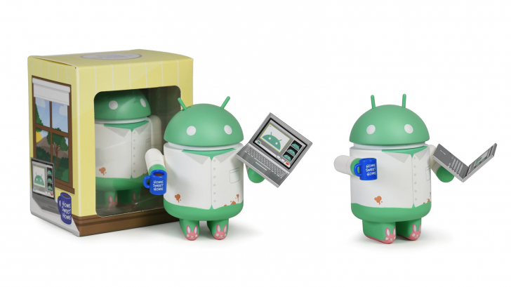 Dead Zebra releases Work From Home special edition Android figurine