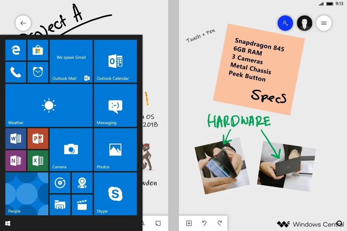Leak reveals Microsoft developed Android-powered Surface Duo in secret from failing Windows Core OS team