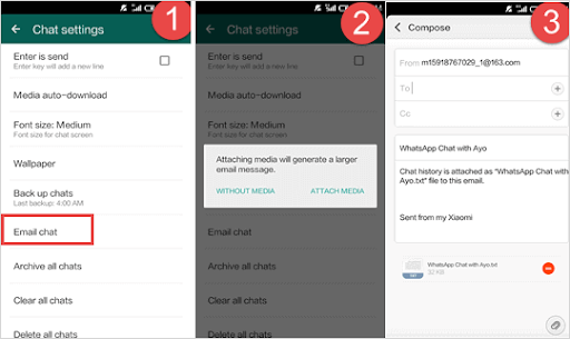 How to transfer WhatsApp data from Android to iPhone?