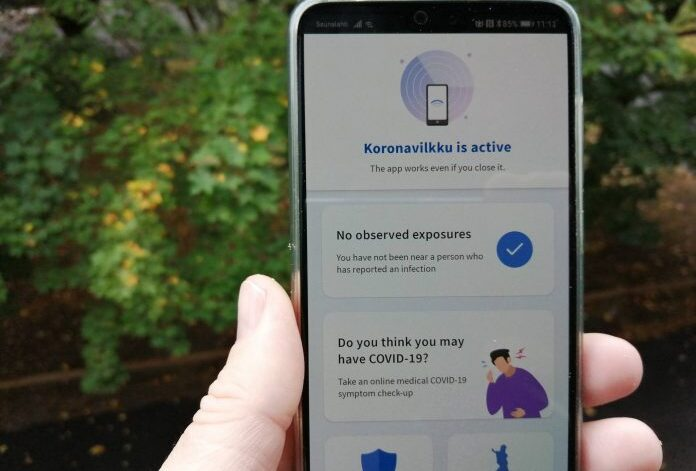 Koronavilkku app now available in English for Android and iPhone