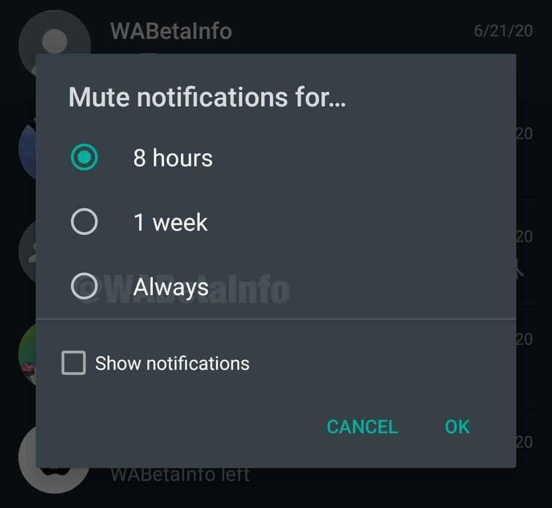 WhatsApp for Android will receive a couple of useful improvements