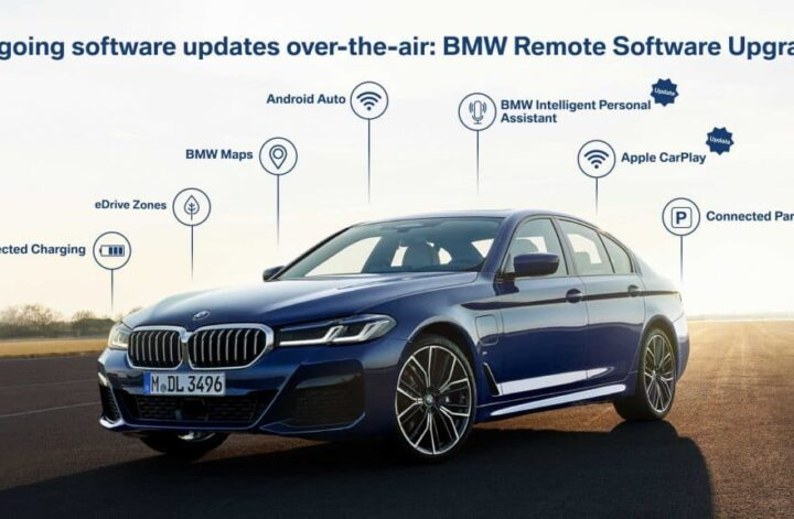 BMW Updates OS 7 with Android Auto, Green Drive Zones & Prettier PA |