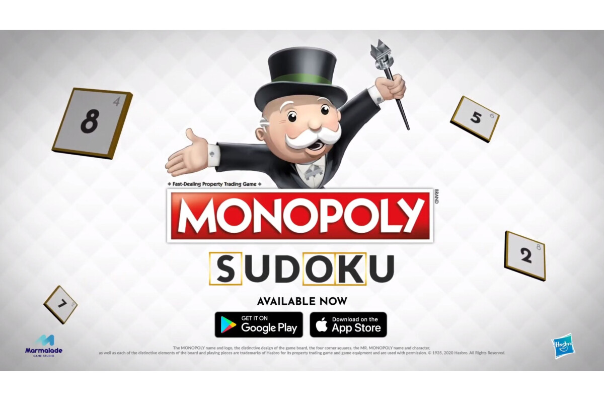 Play this strange Monopoly Sudoku mash-up now on iOS and Android