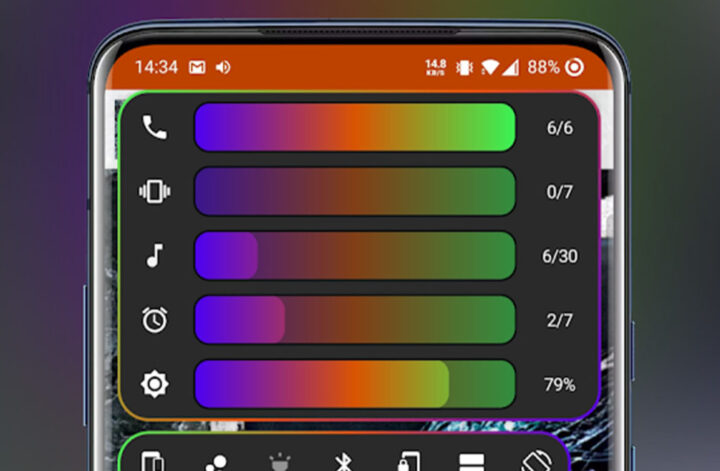 Volume Control Panel Pro best customization apps for Android