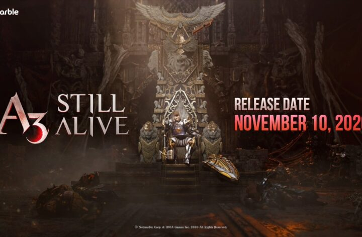 A3: Still Alive will release globally for iOS and Android on November 10th | Articles