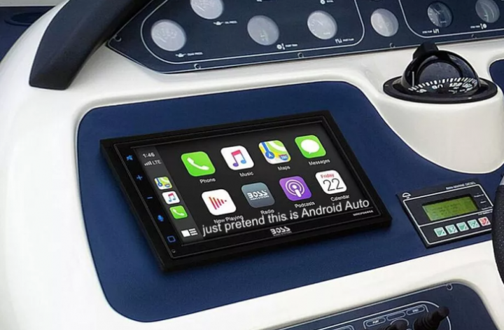 The first Android Auto head unit for boats is here, and it