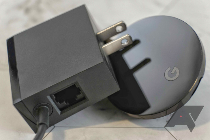 The new Chromecast with Google TV will get an Ethernet adapter, but it will cost $20