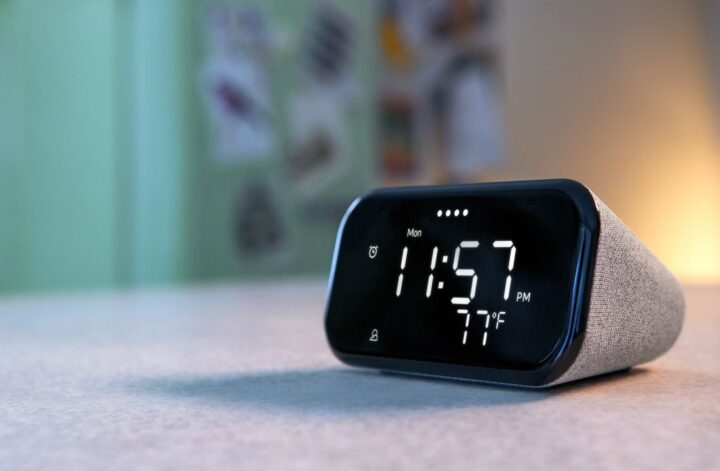 The Lenovo Smart Clock Essential is like an Echo Dot for Android owners
