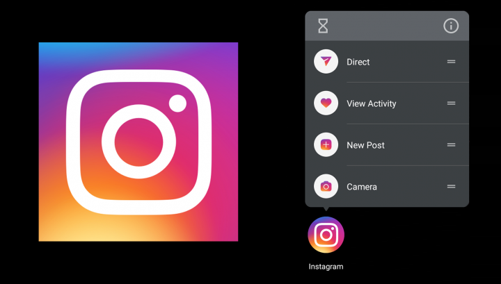 Instagram is rolling out app shortcuts, only a full year after we first spotted them