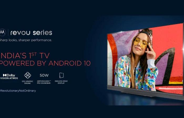 Motorola unveils smart TVs with Android 10 system and MediaTek processor...