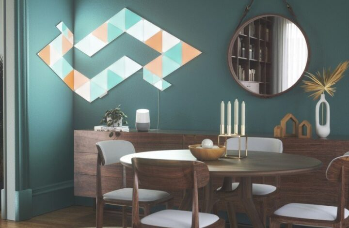 Nanoleaf's Shapes smart lighting line now includes triangles and mini triangles
