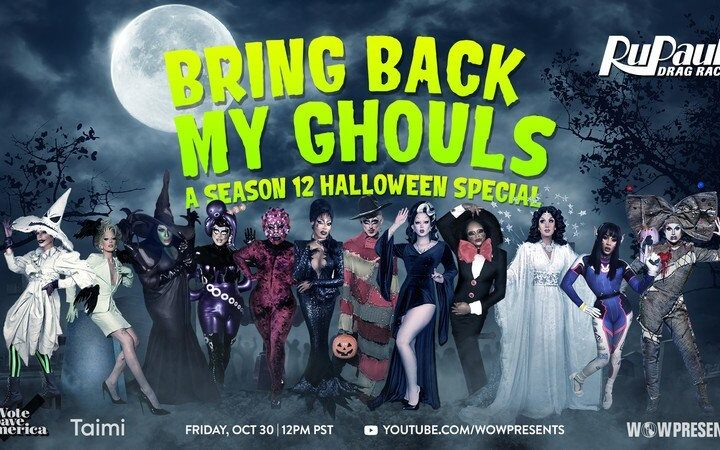 How to watch RuPaul's Bring Back My Ghouls Halloween special online