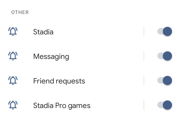 Stadia on Android & iOS gains notifications for invites, more