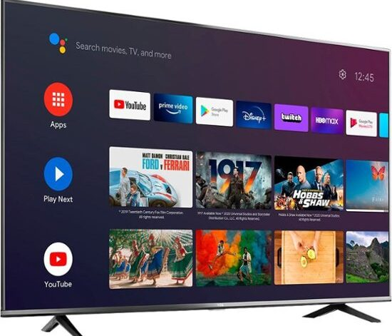 TCL 50-inch 4K Smart Android TV