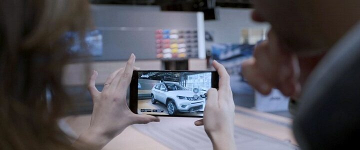 The Power of Tech: Android Phones Will Use AR to Bring a Car in Your Driveway