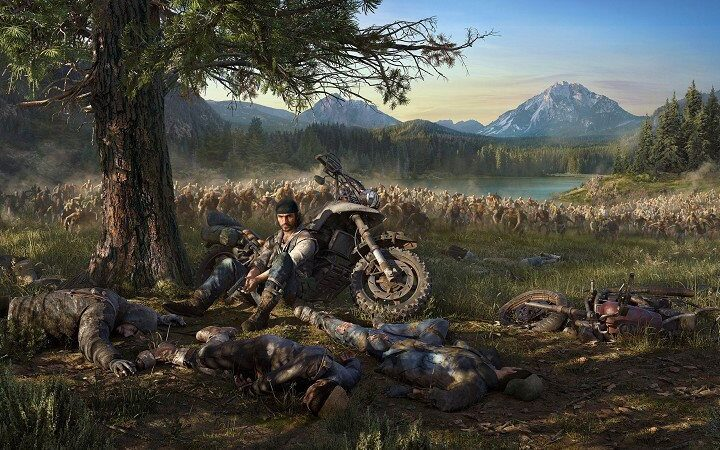 Cover art for Days Gone